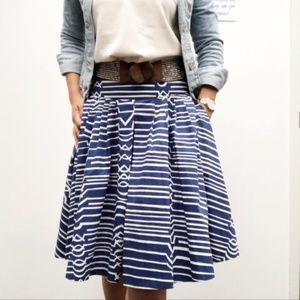 Anthropologie Maeve Full Skirt w/ Pockets